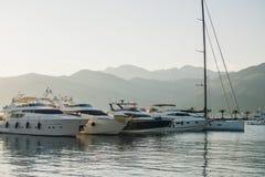 Port de yachts image stock