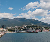 Port de Yalta Photo libre de droits
