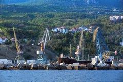Port de Yalta photos libres de droits