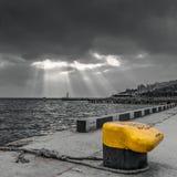 Port de Yalta Photos stock