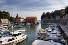 Port de Zadar Photo libre de droits
