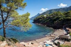 Port des Canonge. In Majorca Balearic Islands, Spain stock image