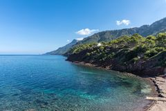 Port des Canonge. In Majorca Balearic Islands, Spain stock photography