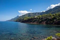 Port des Canonge. In Majorca Balearic Islands, Spain stock images