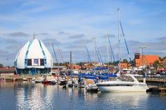Port des Hel, Pologne Photo libre de droits