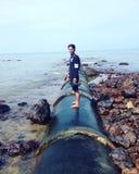 Port Dickson Arkivfoto