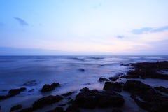 Port Dickson Beach. Sunset at Port Dickson beach in Negeri Sembilan, Malaysia Royalty Free Stock Photography