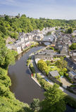 Port of Dinan, Brittany, France Stock Photography