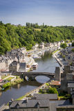 Port of Dinan, Brittany, France Royalty Free Stock Image
