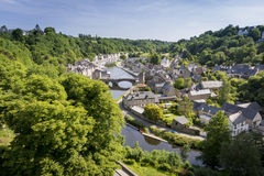 Port of Dinan, Brittany, France Royalty Free Stock Images