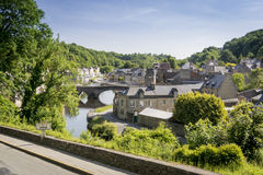 Port of Dinan, Brittany, France Stock Photos