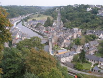 The Port of Dinan, France. Stock Photo
