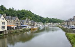 Port of Dinan Stock Photo