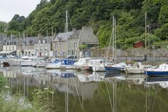 Port of Dinan Stock Photography