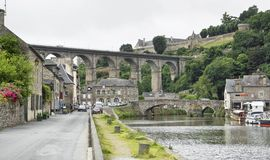 Port of Dinan Royalty Free Stock Photo