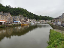 Port of Dinan Stock Image