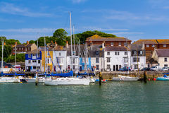 Port Dorset de Weymouth Image stock
