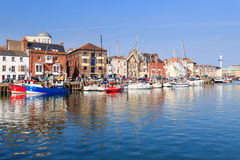 Port Dorset de Weymouth Images libres de droits