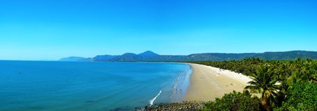 Port Douglas. Image of the Beach in Port Douglas Stock Images