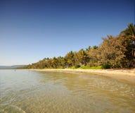 Port Douglas. Four Mile Beach Port Douglas Queensland Australia Stock Photo