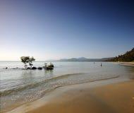 Port Douglas. Four Mile Beach Port Douglas Queensland Australia Stock Image