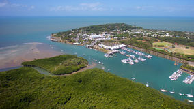 Port Douglas. Aerial landscape of Port Douglas in far north Queensland, Australia Stock Photo