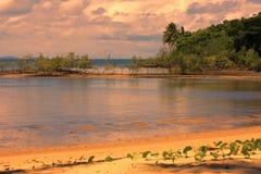 Port Douglas in the sunset Stock Photo