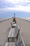 Port Dover Lighthouse Royalty Free Stock Photos