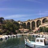Port du Méjean/Marsiglia & x28; France& x29; Fotografie Stock Libere da Diritti