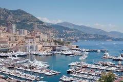 Port du Monaco Photos libres de droits