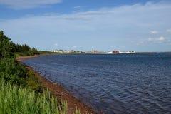 Port du nord de Rustico, PEI Photo stock