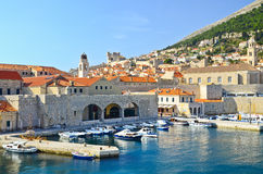Port of Dubrovnik, Croatia Royalty Free Stock Photos