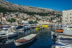 Port in Dubrovnik Royalty Free Stock Image