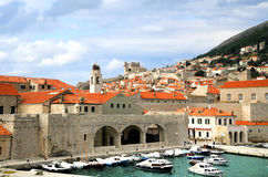 Port in Dubrovnik, Croatia. Stock Photography