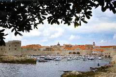 Port in Dubrovnik, Croatia. Stock Image