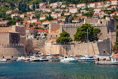 Port of Dubrovnik Royalty Free Stock Image