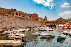 Port of Dubrovnik Royalty Free Stock Photos