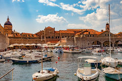 Port of Dubrovnik Royalty Free Stock Images