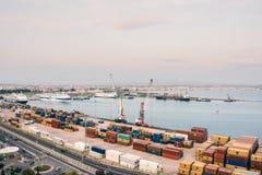Port Durres Albania obrazy stock