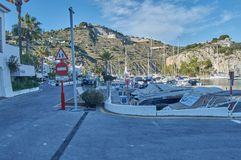 Port of east marina stock photography