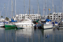 Port El Kantaoui. Elite resort in Tunisia on the coast of the Mediterranean Sea near the city of Susa Stock Photo