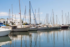 Port El Kantaoui in Tunis Royalty Free Stock Photos