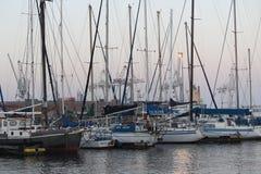 Port Elizabeth-Hafen lizenzfreies stockbild