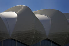 Port Elizabeth's stadium 2010 Soccer World Stock Image