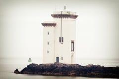 Port Ellen Lighthouse Arkivbilder