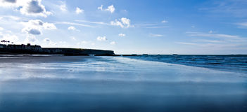 Port-en-Bessin beach Royalty Free Stock Photo
