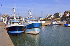 Port-en-Bessin in France Stock Photography