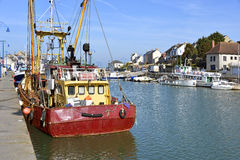 Port-en-Bessin in France Royalty Free Stock Photography