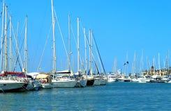 Port en Espagne Images stock