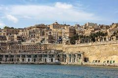 Port en La La Valette, Malte Photos libres de droits